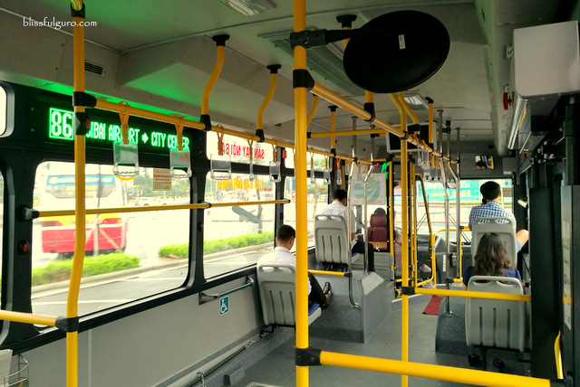 Hanoi Airport To City Bus