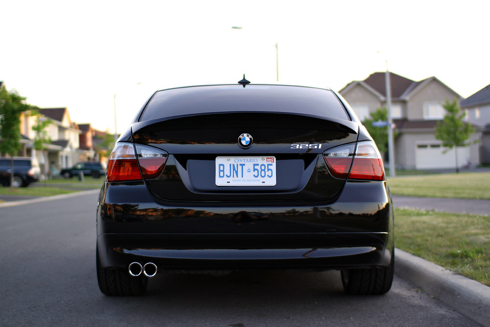 2006 Bmw 325i E90 Csl Spoiler Peter Nowacki Flickr