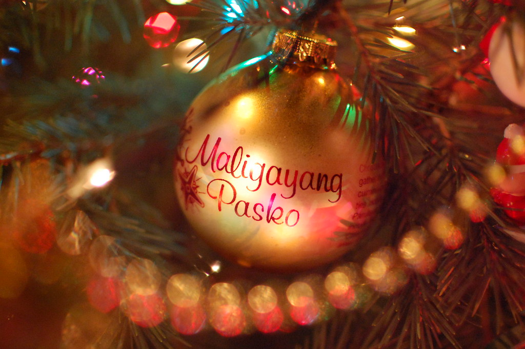 by mattron maligayang pasko by mattron - Merry Christmas Tagalog