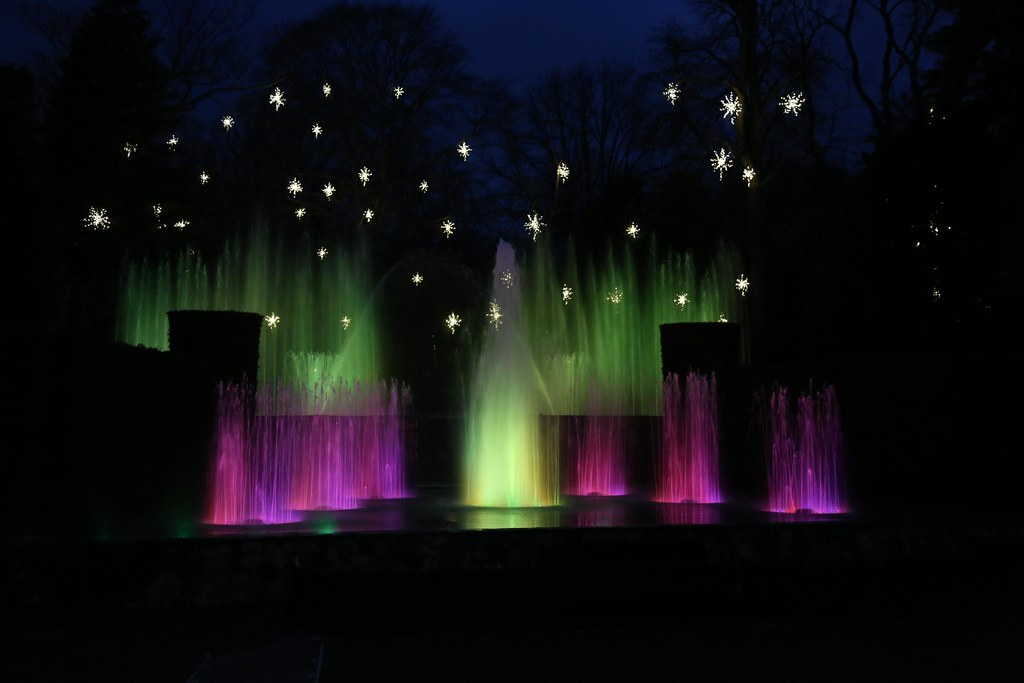 Longwood Gardens Fountain Light Show 7 John Flickr