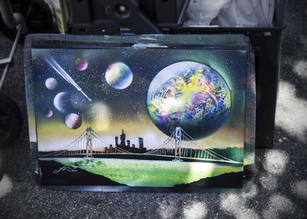 As New Spray Painting
