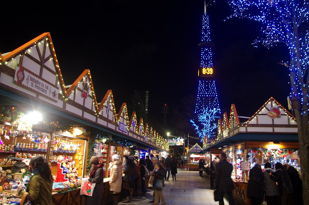 german christmas market in sapporo kaz empson flickr. Black Bedroom Furniture Sets. Home Design Ideas