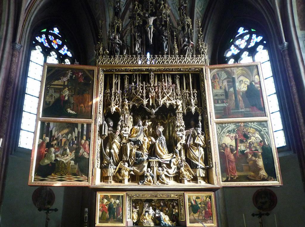 Michael Pacher Sankt Wolfgang Altarpiece Fully Open Flickr