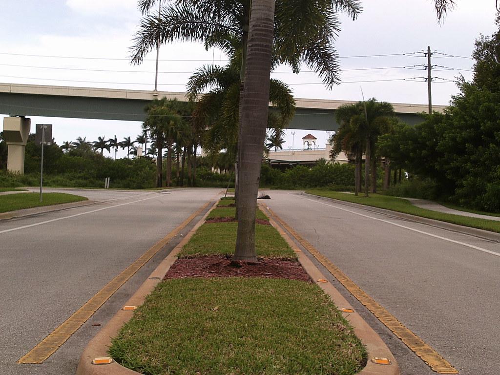 Palm Beach Gardens Overpass Ramp Alternate A1a To I 95 So
