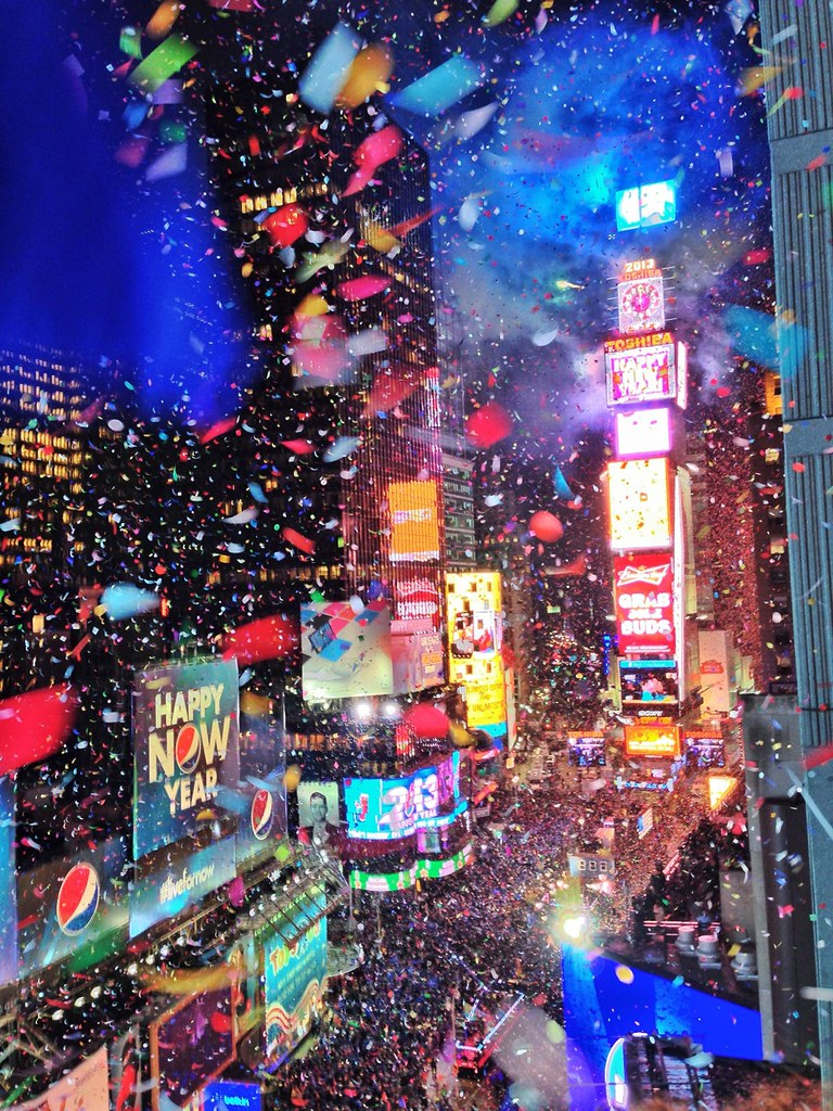 New York Times Square Nye