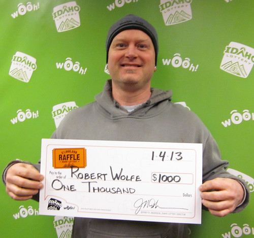 Robert Wolfe - $1,000 Idaho $1,000,000 Raffle | by Idaho Lottery