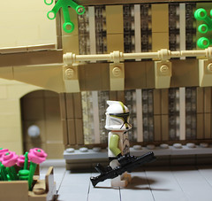 Theed Royal Palace Courtyard by General JJ