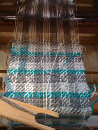 Hand woven scarf - start | by Roceal
