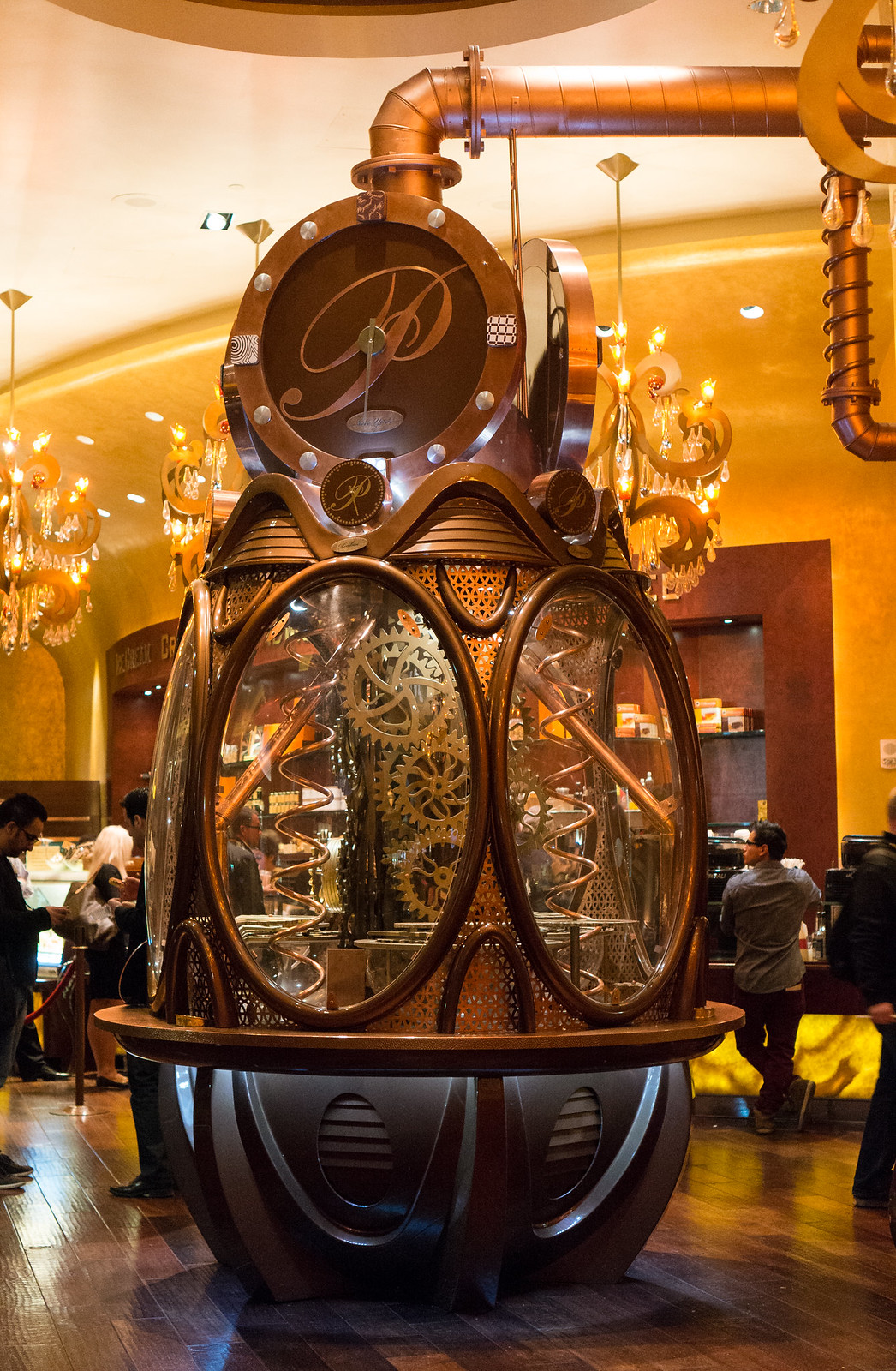 Payard Chocolate Clock Payard's Chocolate Clock