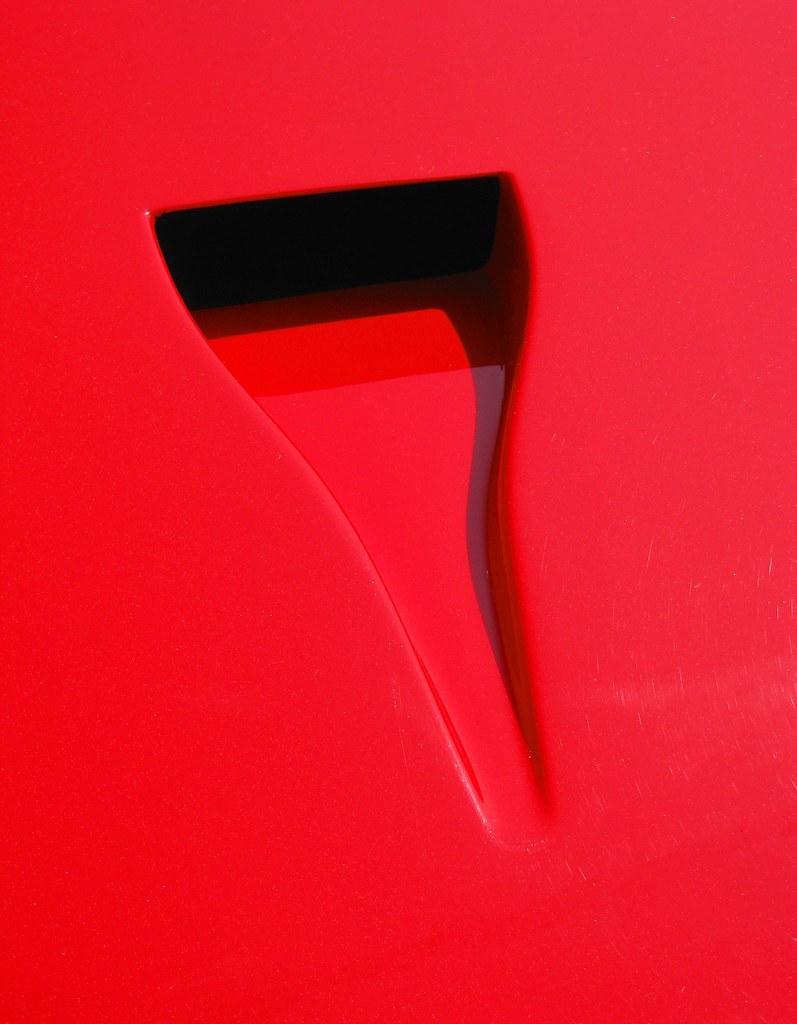 Presa D Aria Naca Ferrari F40 Il Condotto Naca 232 Una