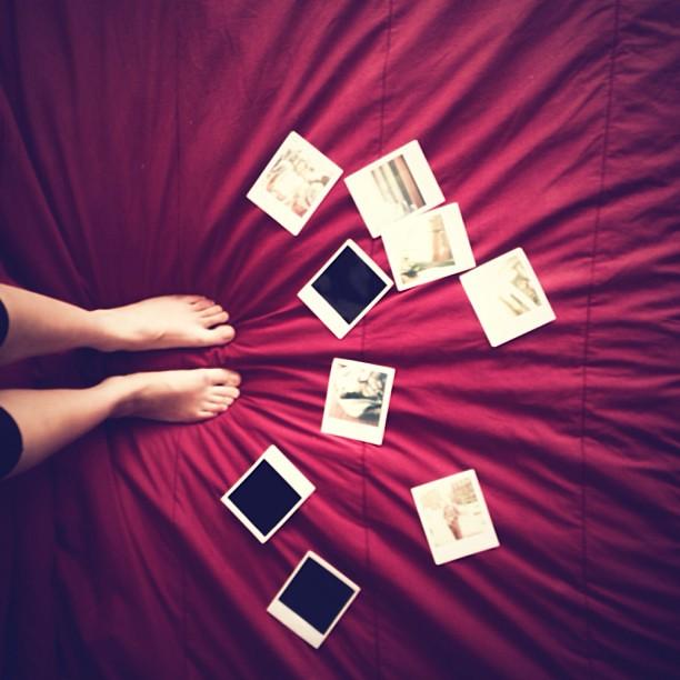 Lotus Flower Feet Polaroid Bed Giovanna Enrquez Flickr