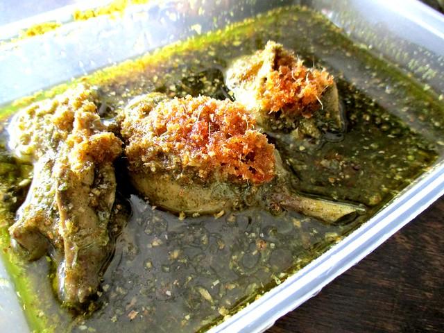 Payung Cafe kacangma chicken 1