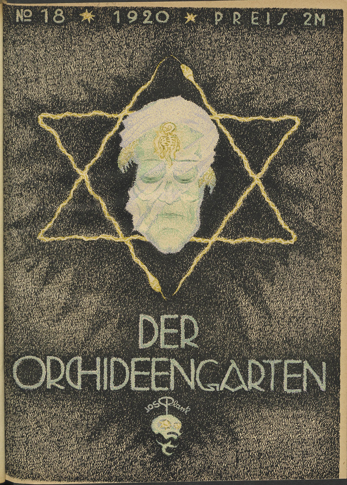 Der Orchideengarten - 1920 (Cover 18)