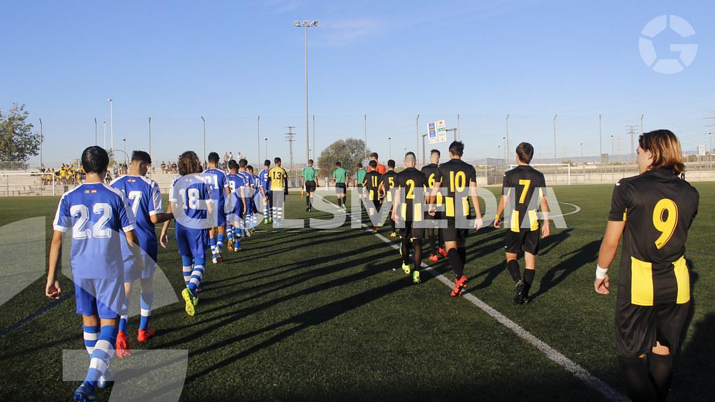 Liga Autonomica Cadete C.F. Escuelas San Jose ; 2 - 3 C.D. Roda