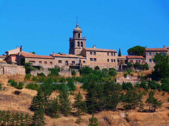 Imagen de Medinaceli (Soria) desde la carretera