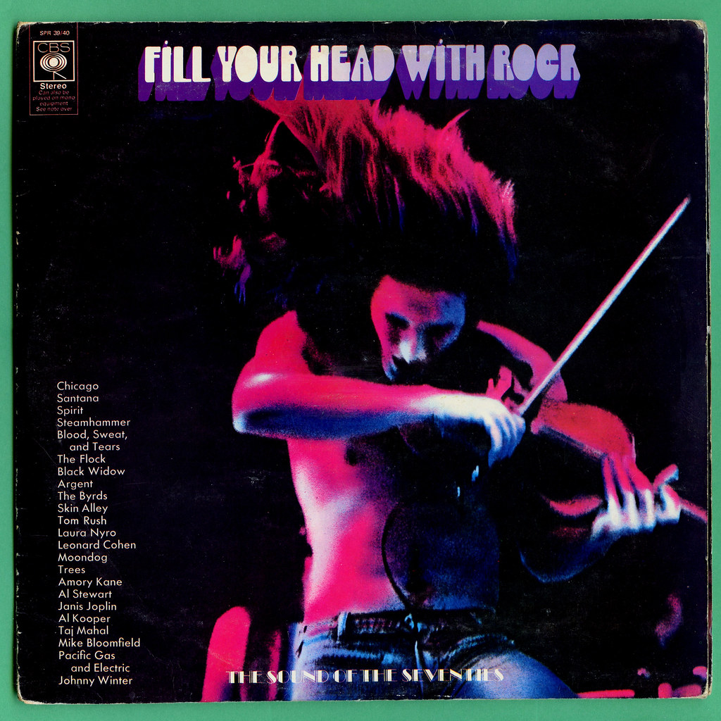 Various Artists Fill Your Head With Rock Cbs Vinyl