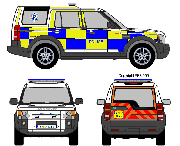 Humberside Police Land Rover Discovery 3 Roads Policing Un