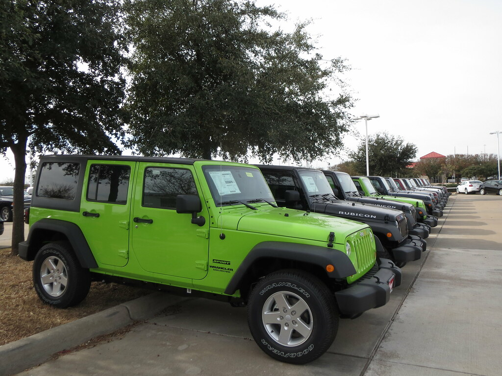 ... Lime Green Jeep Wrangler Gecko | By Zombieite
