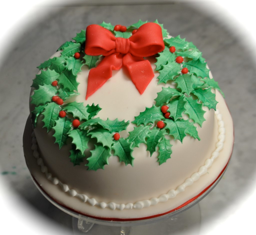 Sugarcraft Christmas Cake Ideas