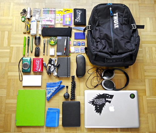 What's in my bag January 1, 2013 no Timbuk2 :( | by Do8y