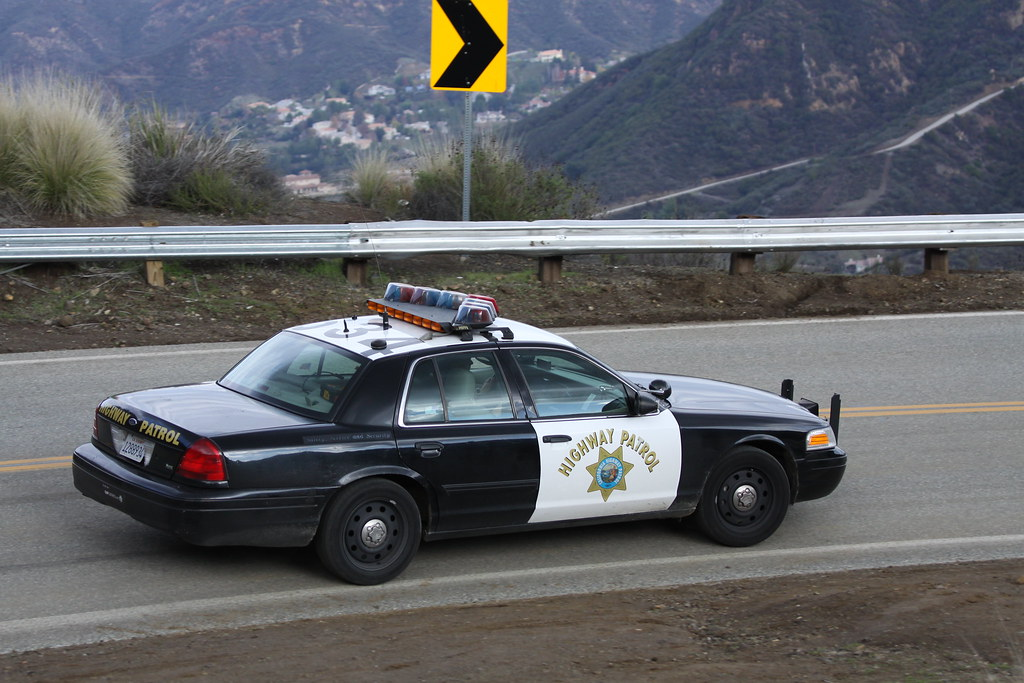 California Highway Patrol Ford Crown Victoria