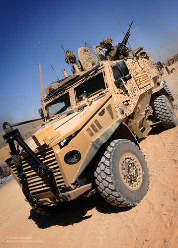 Foxhound Light Protected Patrol Vehicle Foxhound Light