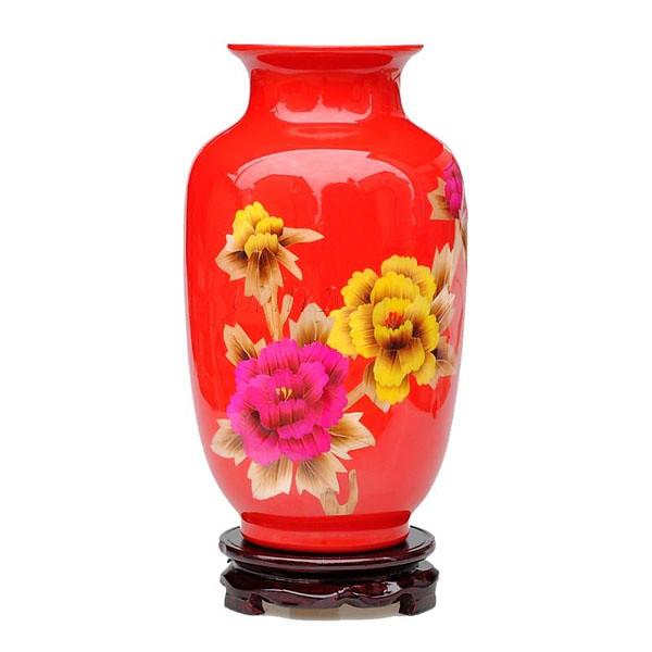 Modern Red Flower Vase 1em Namemodern Red Flower Vase Flickr