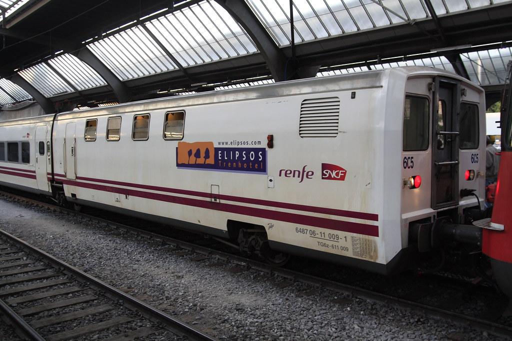 Talgo elipsos trenhotel maschinenwagen tg6z 611 009 flickr for Elipsos trenhotel