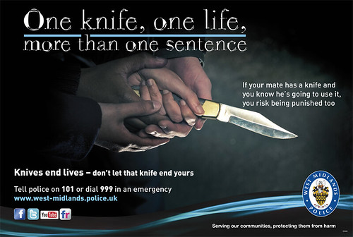 Day 21 Knives End Lives Campaign Poster Knife Crime In