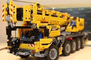 lego technic 42009 mobile crane mk ii first photos of. Black Bedroom Furniture Sets. Home Design Ideas