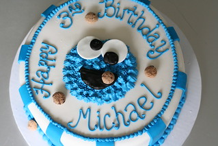 Cookie Monster Cake | by Sweet Lauren Cakes