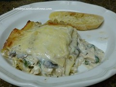 Chicken Florentine Lasagne ~ From My Carolina Home