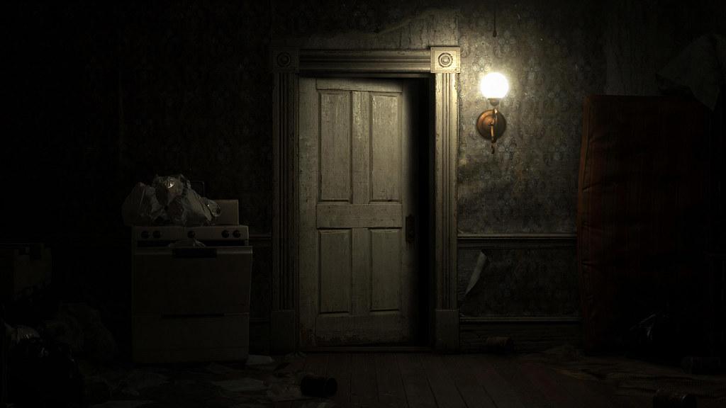 Image result for resident evil door