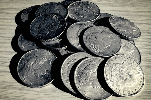 Vintage Dollar Coins | by ccPixs.com