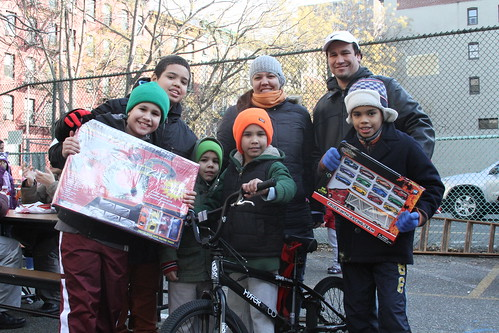 Steve Torres, 7 with his family | by Bedford Bowery