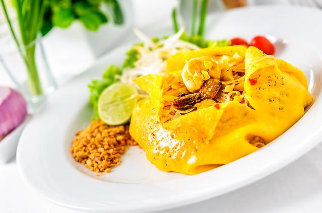 Thai fusion food at sawaddi patong resort flickr photo for Aura world fusion cuisine