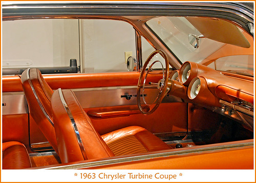 1963 chrysler turbine interior september 7 2011 visit to flickr. Black Bedroom Furniture Sets. Home Design Ideas