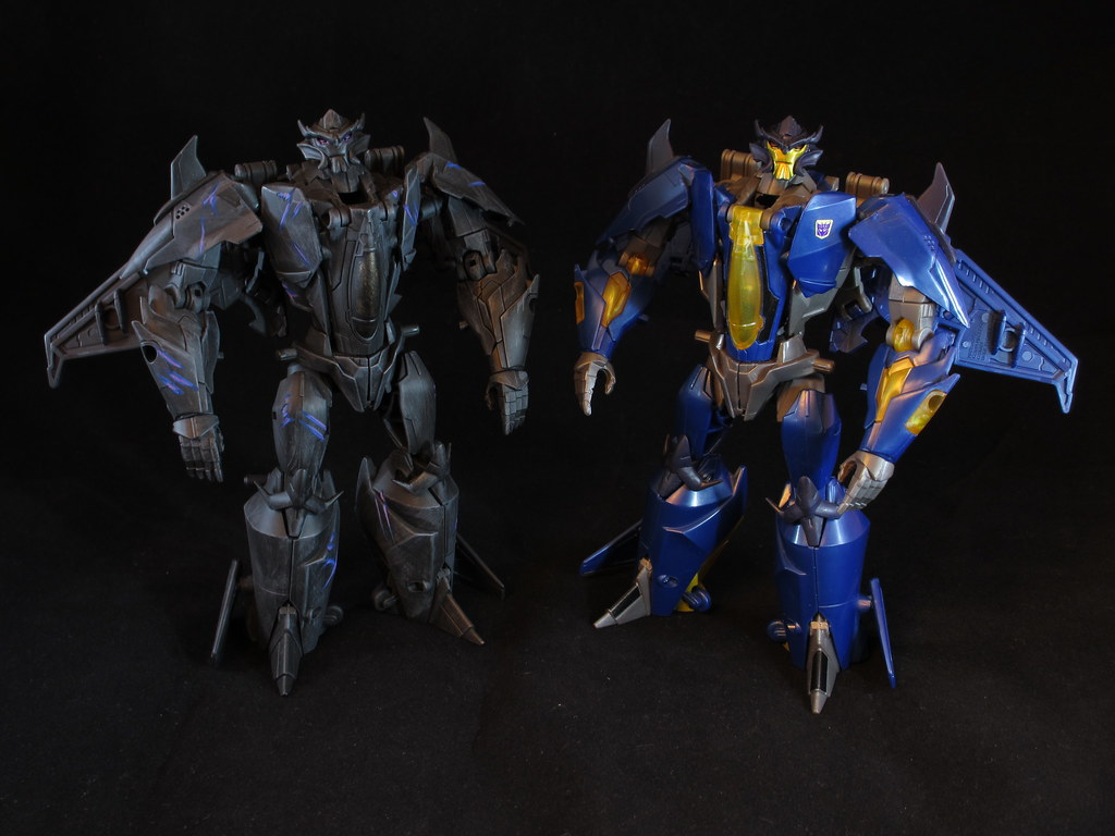 Prime Skyquake & Dreadwing - Bot Modes | Transformers ...