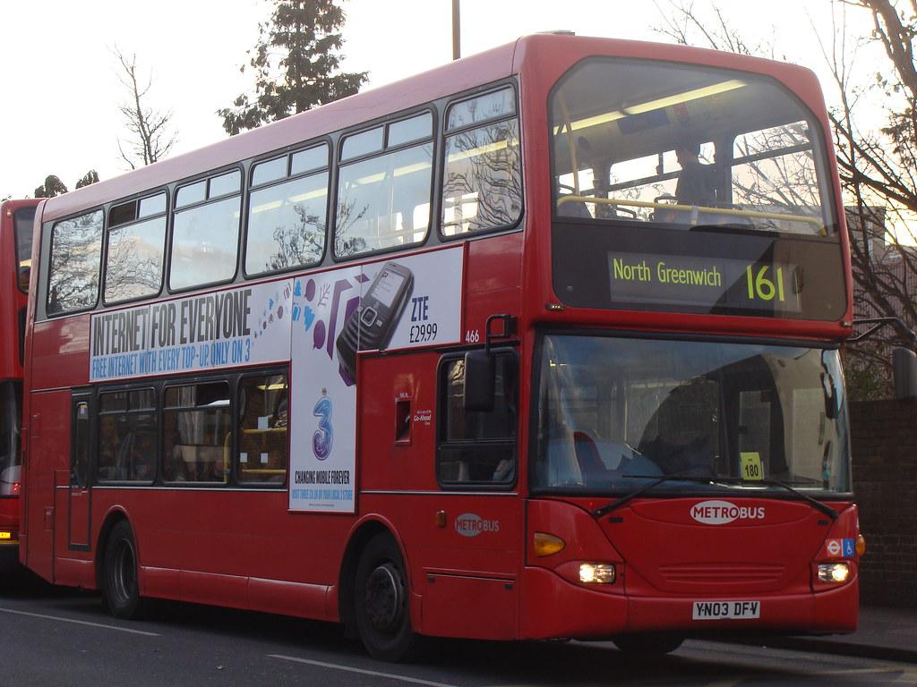 ... Metrobus 466 YN03DFV | by Will Swain