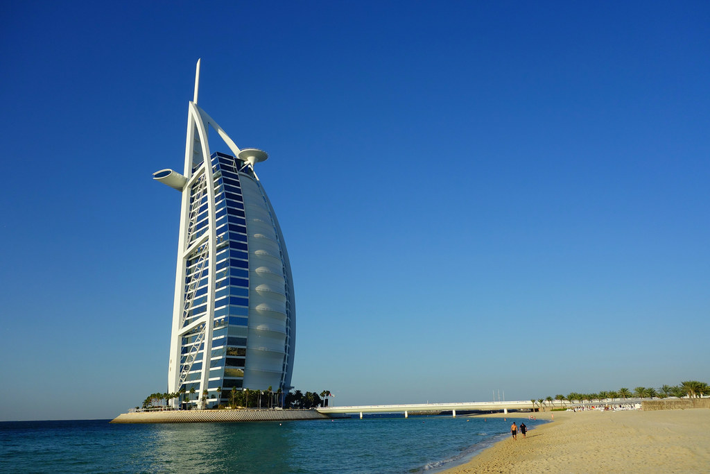 Burj al arab hotel dubai shot with the sony rx 100 flickr for Dubai world famous hotel