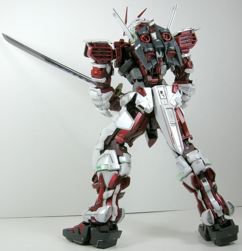 Perfect Grade 1/60 Gundam Astray Red Frame Back | Dark Red ...