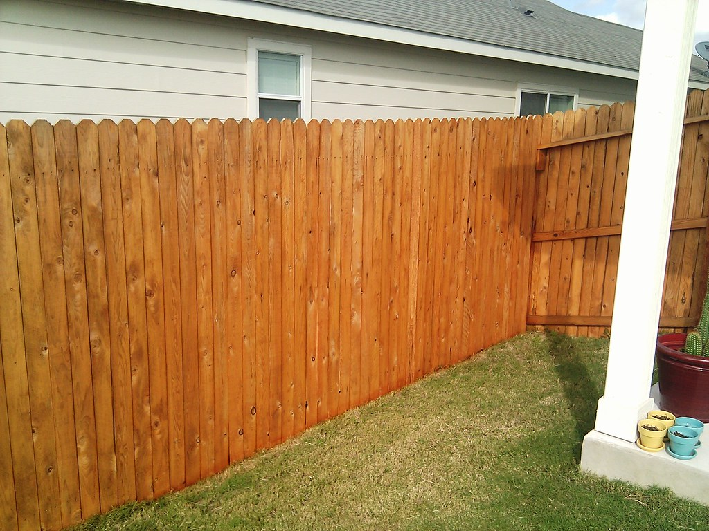 Fence Staining Cabot Wood Toned Deck Amp Siding Stain 3002