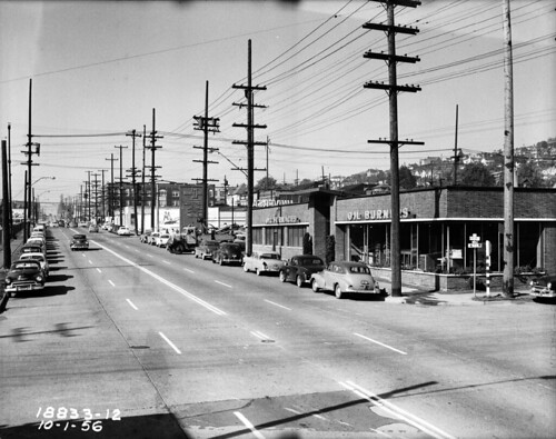 6th Ave. N. and Mercer, 1956 | by Seattle Municipal Archives