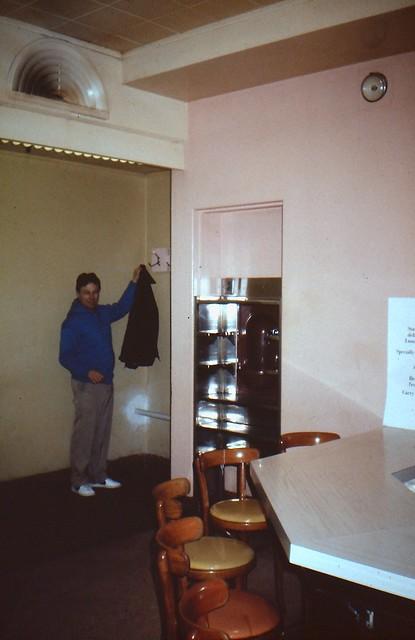 Hutzler's Howard St. Basement Lunceonette 1985