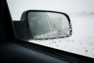 Truck Mirror | by goingslowly