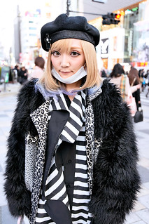 Black & White in Harajuku | by tokyofashion