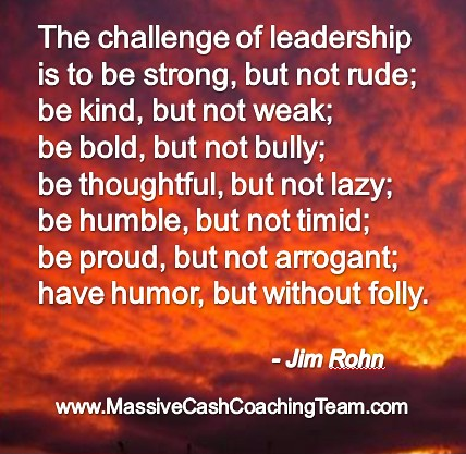 inspirational quotes leadership jim rohn vision mission