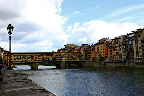 Pontevecchio bridge over the Arno