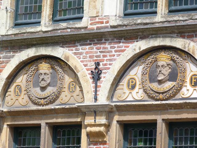 Carlos V en la casa de las caras (Gante, Flandes)