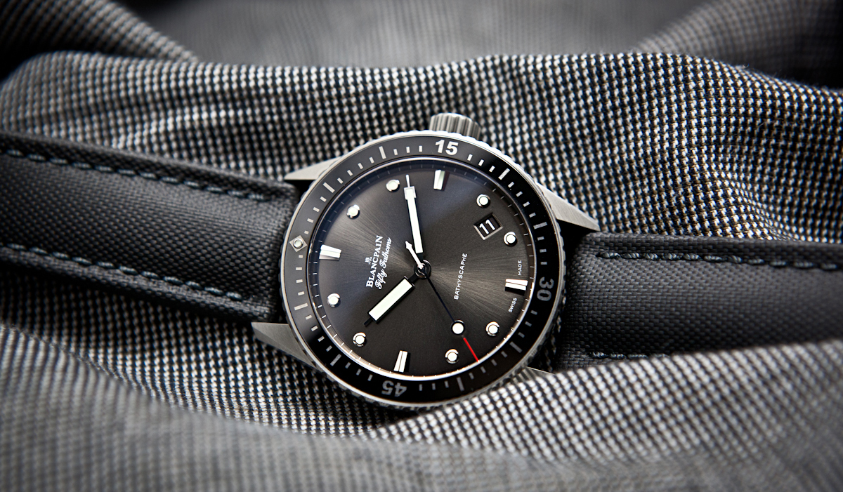 Omega Authorized Dealer >> FSOT: 2016 Blancpain Fifty Fathoms Bathyscaphe - Stainless ...